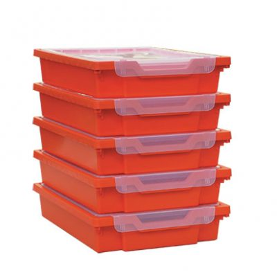 Set of 5 Trays and Lids