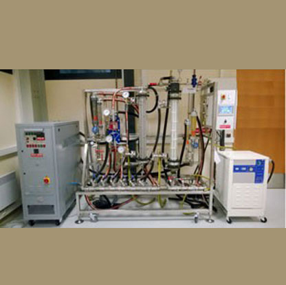 Three Exchanger Test Rig