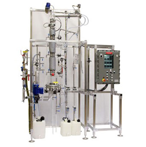 Continuous Distillation Unit for Explosion Proof Area