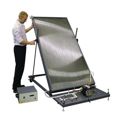 Flat Plate Solar Thermal Energy Collector