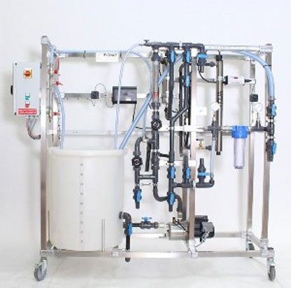 UV Disinfection and Toc Reduction Unit