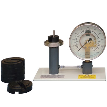 Calibration of A Pressure Gauge (H3A)